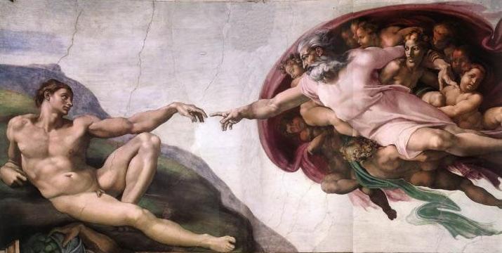 La-Creazione-Michelangelo