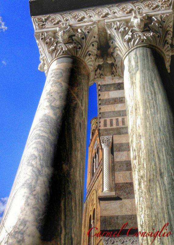 Amalfi colonne atro Cattedrale