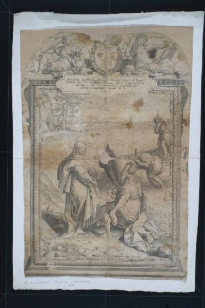 Pesca miracolosa Barocci Federico (1535 1612) Collaert Adriaen (1560 1618) incisore
