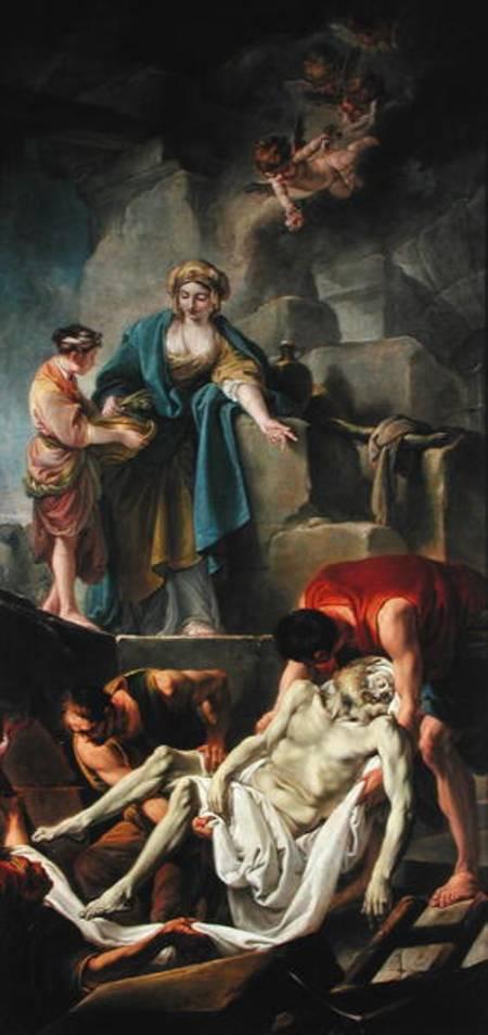 Olio su tela, Jean Baptiste Deshays de Colleville (1729-65)