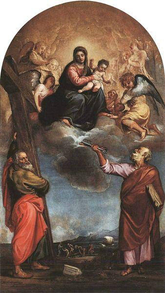 Tiziano Vecellio Pala di Serravalle(1542-47)