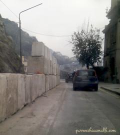 strada chiusa salerno