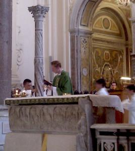 Marek Ondrej Messa Cattedrale Amalfi