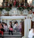 Santa Rita benedizione bambini