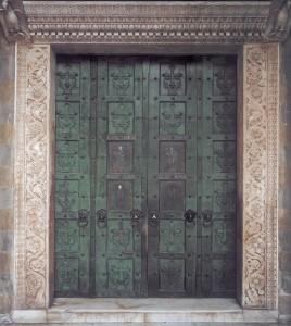 Porta di bronzo del duomo di Amalfi