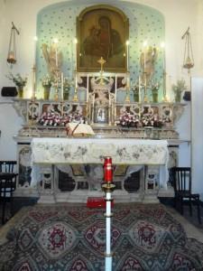 altare madonna di portosalvo