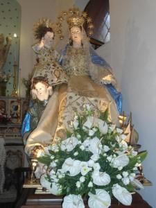 statua madonna di portosalvo