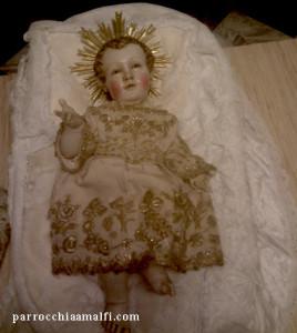 Gsù bambino cattedrale Amalfi