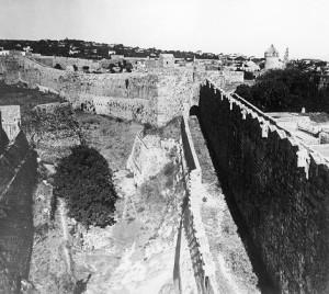 Gerusalemme, area del quartiere amalfitano