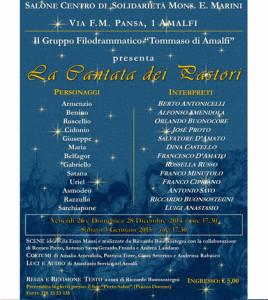 cantata pastori Amalfi