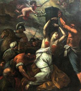 martirio sant'Agata