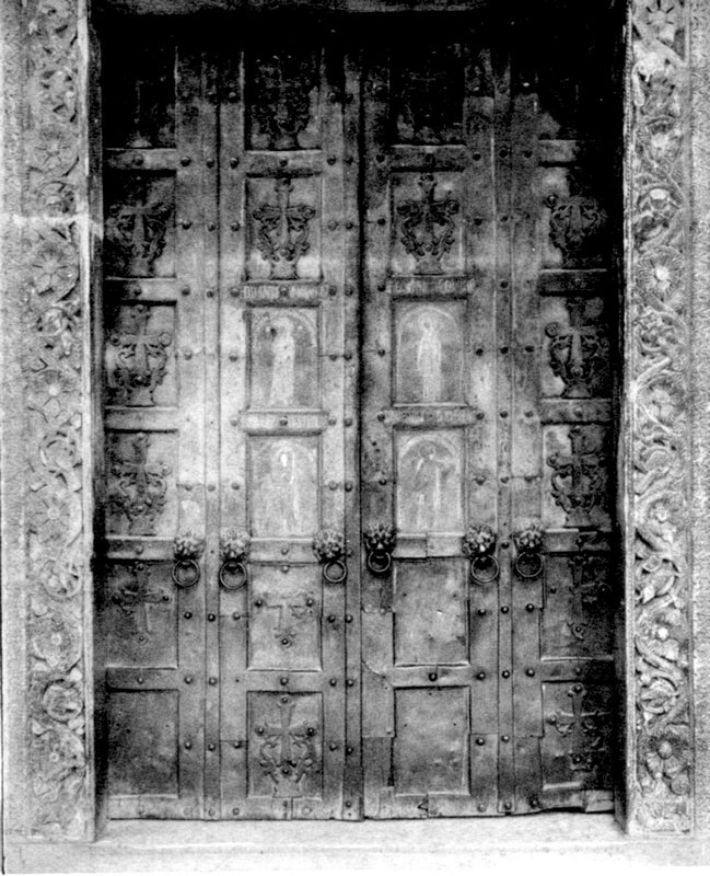 la porta di bronzo prima del 1908