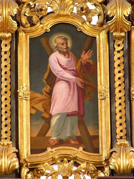 Apostolo Andrea dalla chiesa di Hajdudorog (Ungheria)
