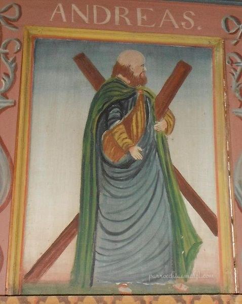 Apostolo Andrea di Theodor Mohme