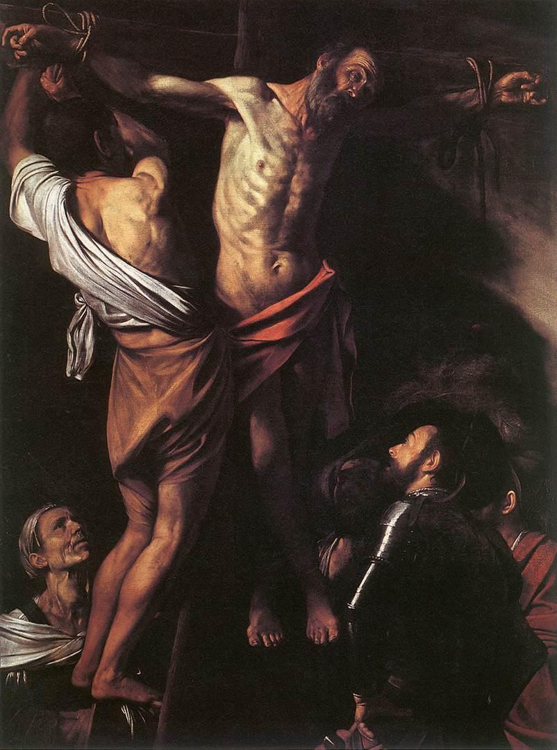 Caravaggio Crocifissione