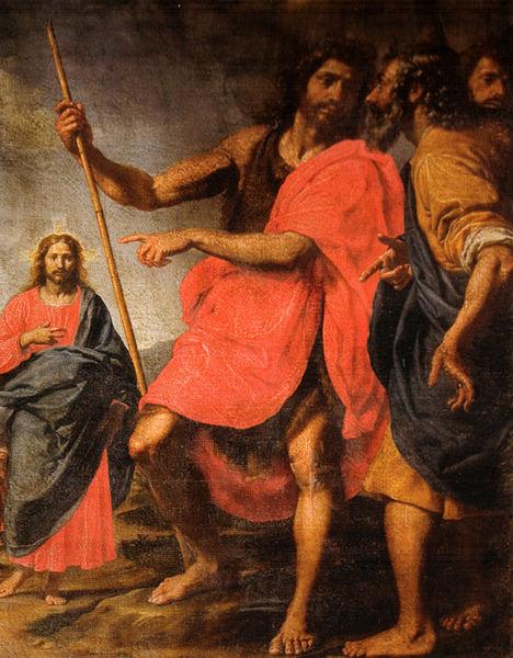 Ottavio Vannini San Giovanni che indica il Cristo a Sant'Andrea