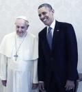Papa Obama incontro Roma