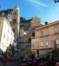 Amalfi scorcio piazza duomo